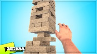 THE BEST WAY TO PLAY JENGA! (Blockle)