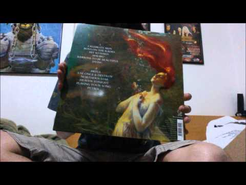 Unboxing: Hole - Celebrity Skin (180 grams black LP - 2014 reissue)