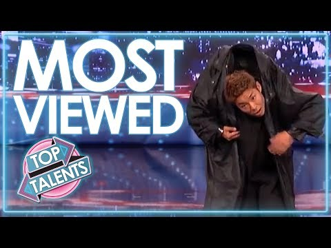 MOST VIEWED Auditions From America's Got Talent | Top Talents