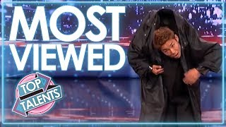 MOST VIEWED Auditions From America's Got Talent   Top Talents