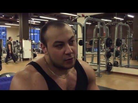 Александр Ткаченко - Тренировка груди