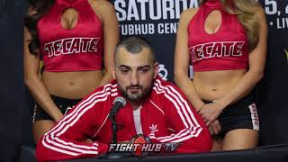 "VANES MARTIROSYAN ""I SEE WHY CANELO WAS EATING THE MEAT"""