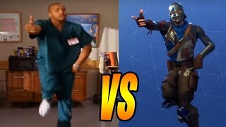 ALL FORTNITE DANCES IN REAL LIFE! (Best Mates, Electro Shuffle) *NEW 2018*