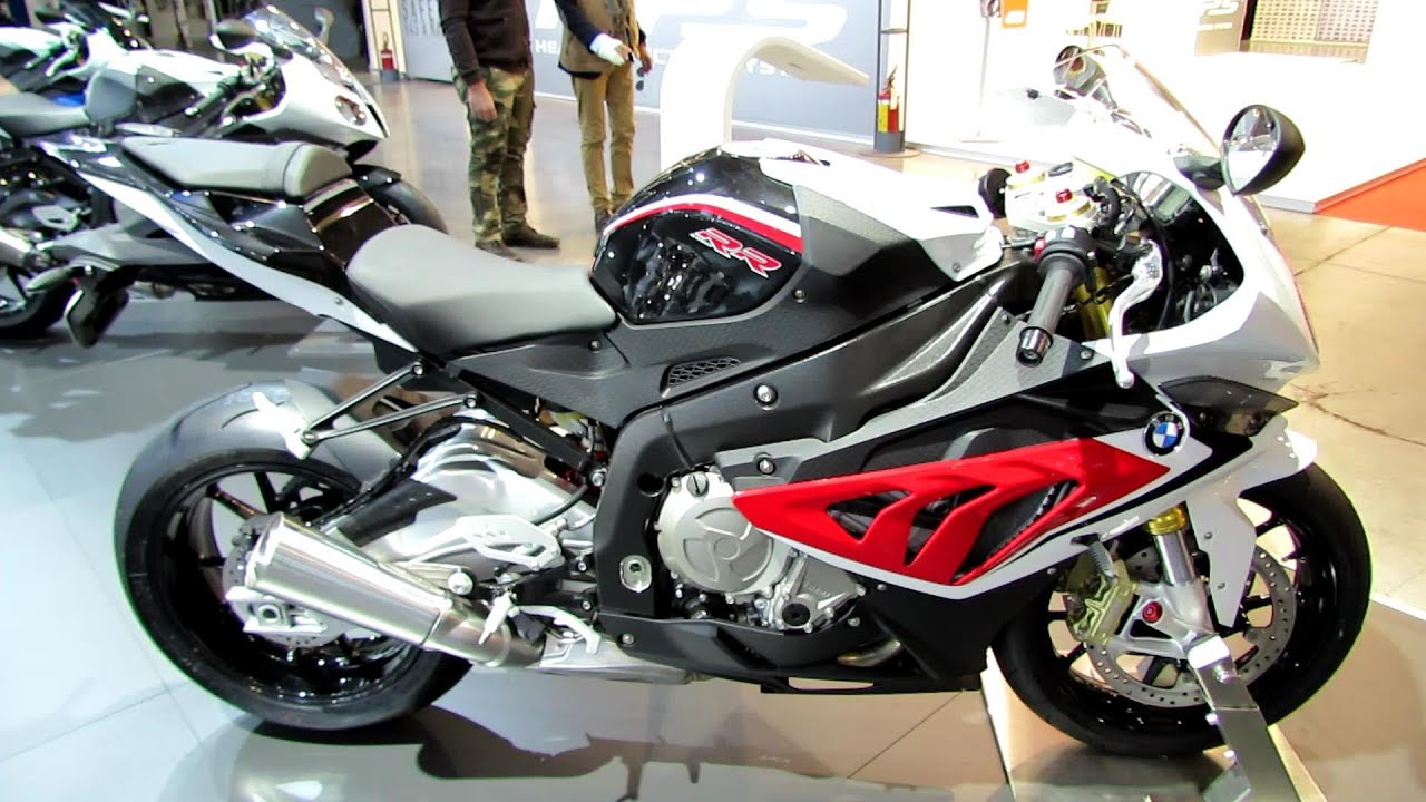 2014 Bmw S1000rr Black Red White Walkaround 2013 Eicma