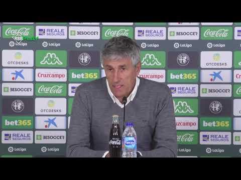 ¡No hemos merecido esta derrota ante el Real Madrid! | RUEDA DE PRENSA | Real Betis Balompié