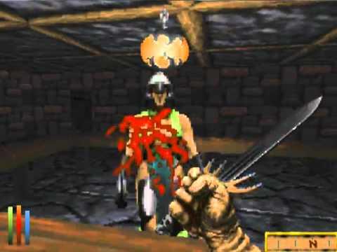 Daggerfall Argonian Mage Gameplay - 1st Dungeon - YouTube