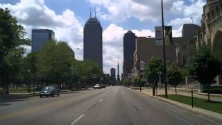 Drive to Downtown Indianapolis