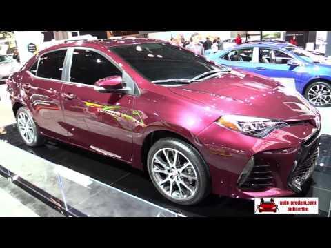 Toyota 86 2017, Toyota C-HR 2017, Toyota Corolla 50th Anniversary 2017, Toyota Corolla XSE 2017