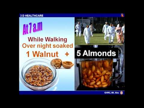 Balanced Diet for Healthy Heart II - 1 by BK. Bala Behn