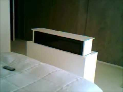 Santa barbara smarthomes under bed tv lift mechanism doovi for Motorized vertical tv lift