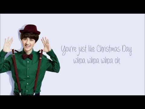 EXO - Christmas Day (圣诞节) Chinese Version (Color Coded Chinese/PinYin/Eng)