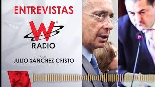El cara a cara entre Álvaro Uribe y uno de los testigos en su contra