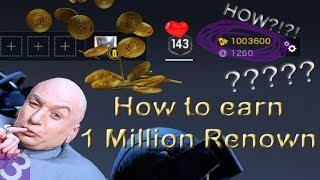 How Do I Get 1 Million Renown? Rainbow Six Siege Renown