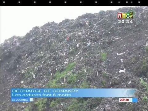 www.guineesud.com - Conakry : Les ordures font 8 morts et plus de 10 blessés : le 22.08.2017