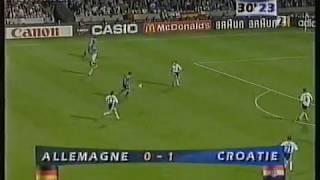 Mondiali 1998 Germania-Croazia 0-3 - World Cup 1998 Germany-Croatia 0-3 highlights