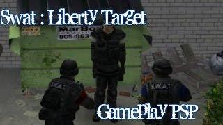 Swat : Target Liberty - Gameplay - English - PSP