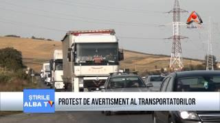 PROTEST DE AVERTISMENT AL TRANSPORTATORILOR