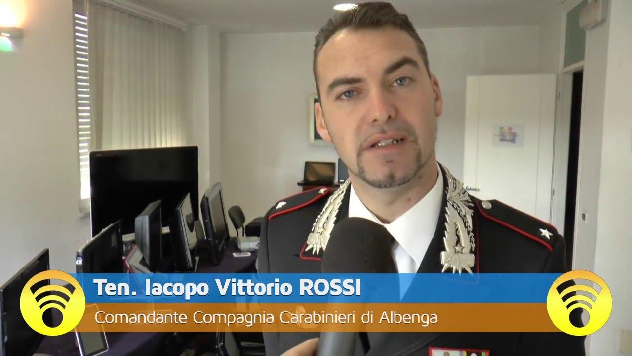 Albenga: Carabinieri del Nucleo Operativo ingauno hanno arrestato Es Salmi Hamid per spaccio e ricettazione: video #1