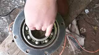 Ремонт боровой Т40. Замена подшипников/ Repair of the on-board gearbox
