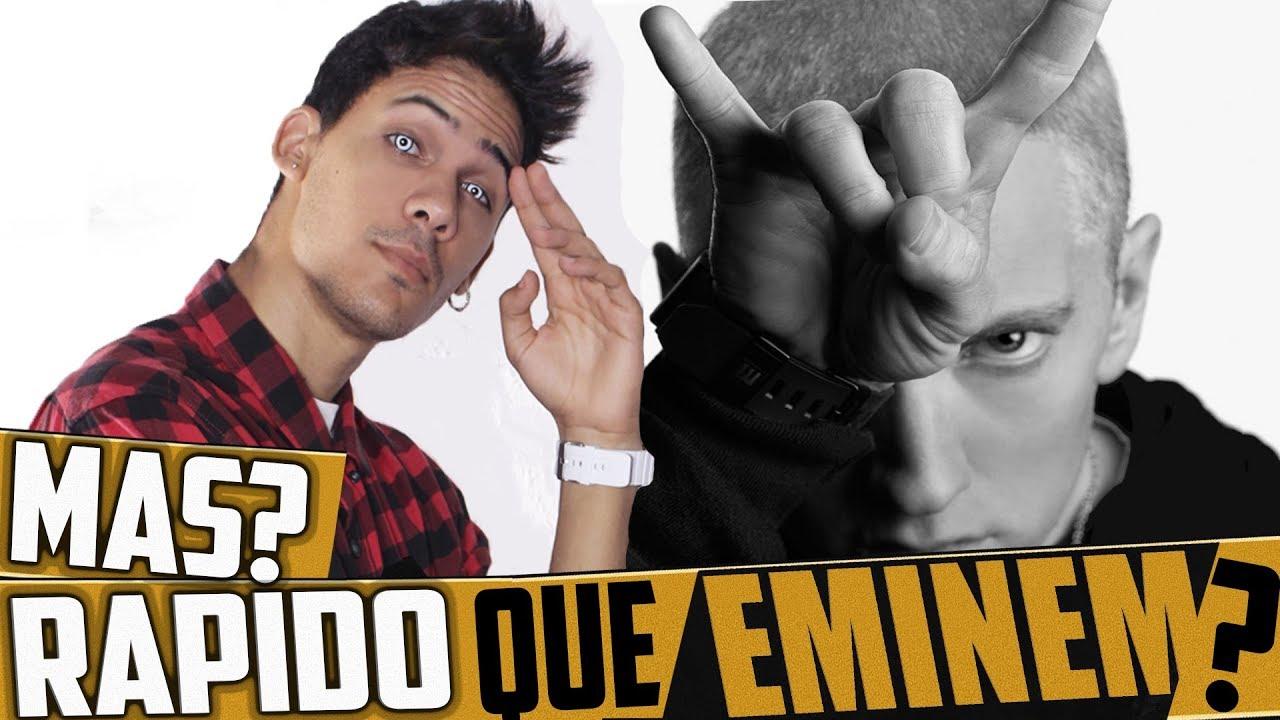 Download ¿ PUEDO RAPEAR MAS RÁPIDO QUE EMINEM ? INCREIBLE!! RAP FASE DIOS!!   KRONNO ZOMBER