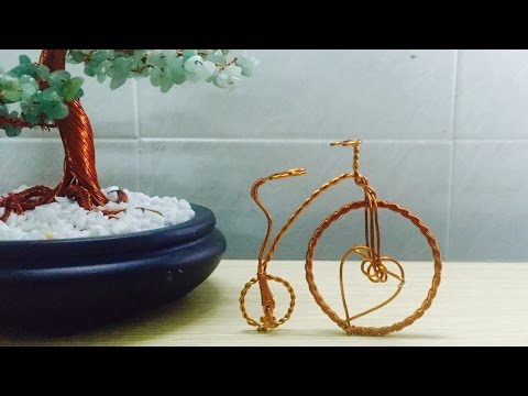 HOW TO MAKE CLASSIC BICYCLE COPPER WIRE