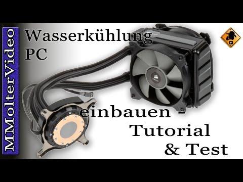 Wasserkühlung PC einbauen Anleitung von MMolterVideo