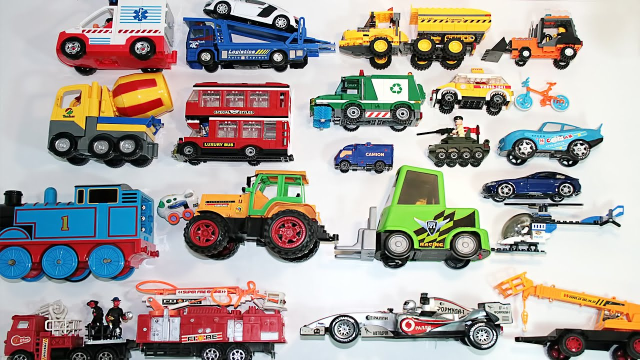Learning Street Vehicles Names And Sounds For Kids Youtube
