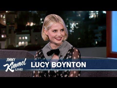 Lucy Boynton on The Politician, American Accent & Disneyland