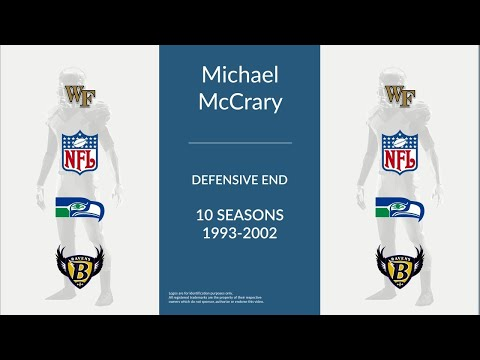 Michael McCrary: Football Defensive End