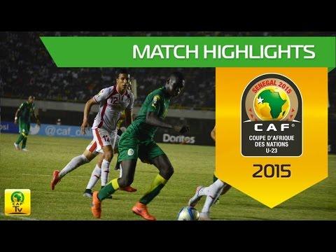 Tunisia vs Senegal   U-23 Africa Cup Of Nations, SENEGAL 2015
