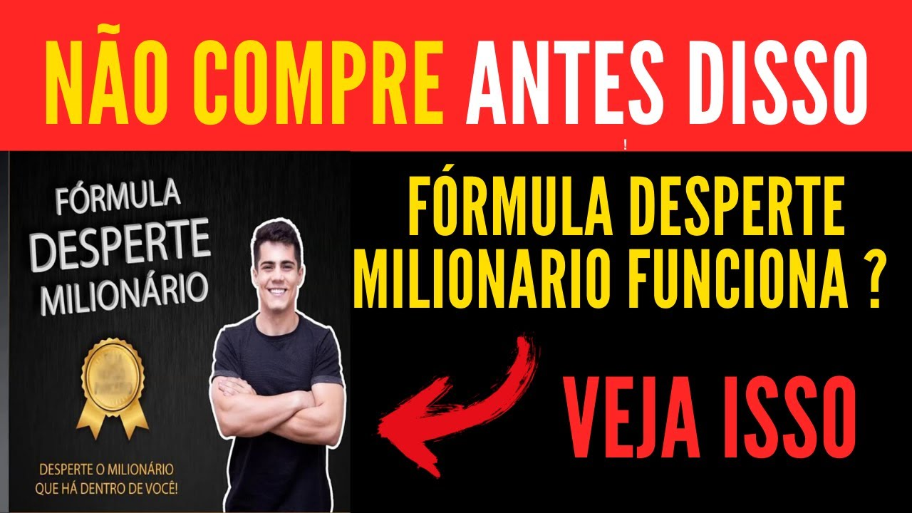 formula desperte milionario funciona curso fdm gabriel floriani