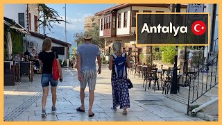 Exploring Antalya Turkey Walking Tour رحلتنا إلى أنطاليا،تركيا