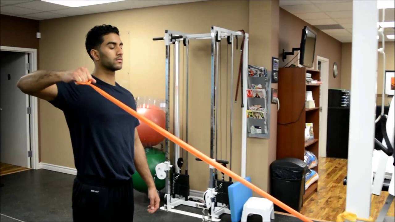 External Rotation At 90 Degrees Abduction Youtube