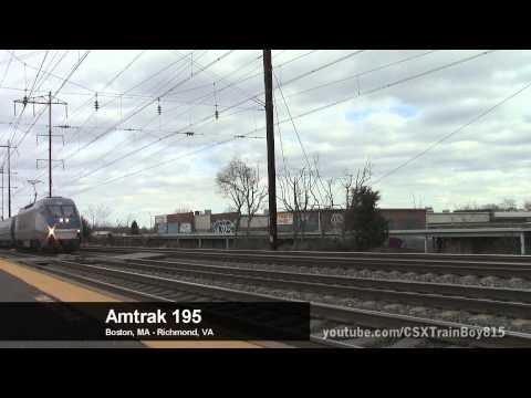 Amtrak/NJ Transit Northeast Corridor Holiday Extra Trains at Jersey Avenue