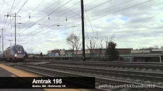 Amtrak/NJ Transit Northeast Corridor Holiday Extra Trains at Jersey Avenue
