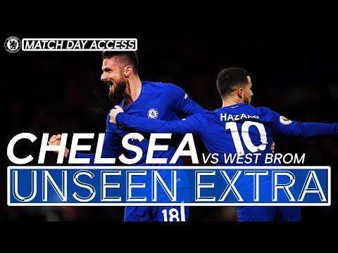Giroud's First Chelsea Start | Unseen Extra