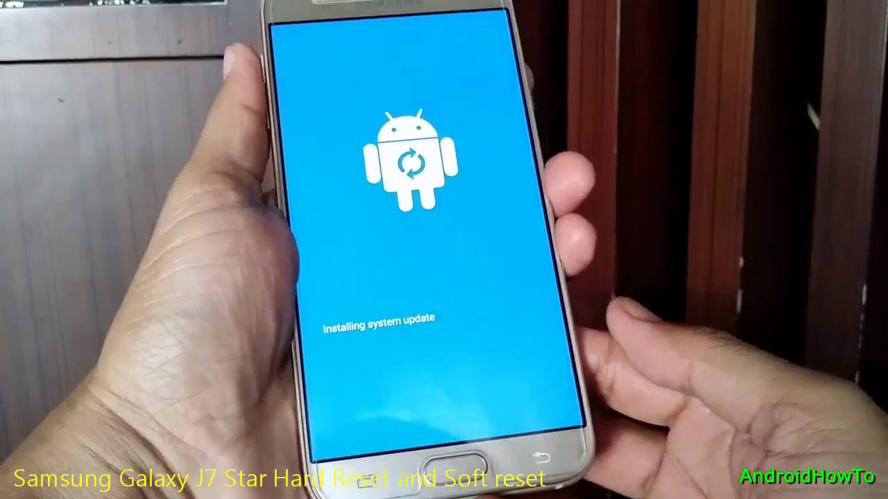 Samsung Galaxy J7 Star Hard Reset and Soft reset   Recovery-Mode com