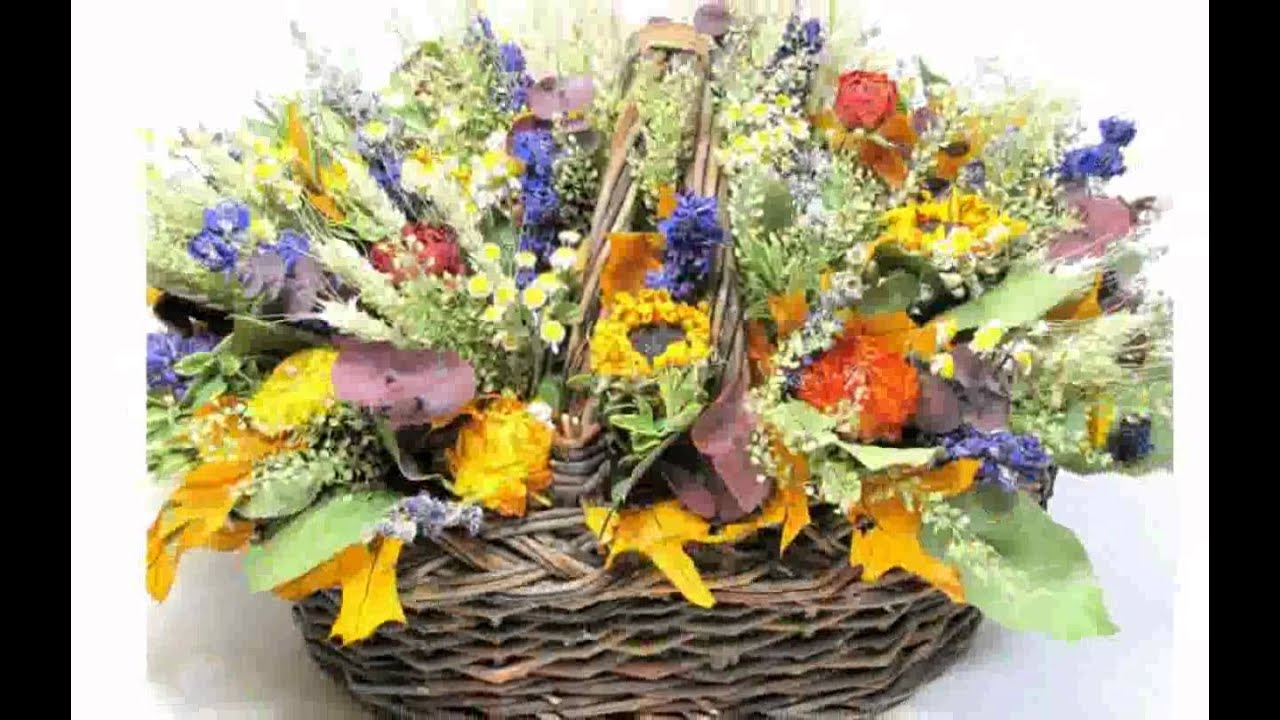 dry flower arrangement youtube