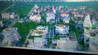 simcity on vizio e43u d2 tv computer monitor 60hz r9 290