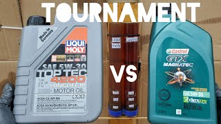 Castrol vs liqui moly oil tournament