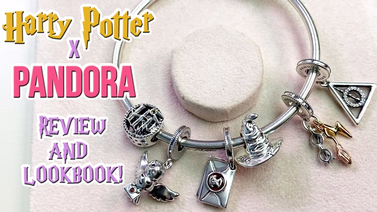 NEW HARRY POTTER X PANDORA COLLECTION 2020 | REVIEW AND LOOKBOOK!