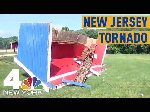 Confirmed EF1 Tornado Rips Through New Jersey  NBC New York