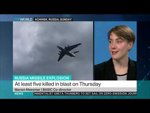 Russia Missile Explosion: Interview with Marion Messmer