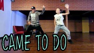 CAME TO DO - Chris Brown Dance | @MattSteffanina & Taylor Hatala (11 year old) thumbnail