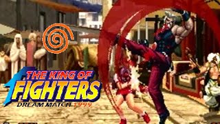 The King of Fighters Dream Match 1999 playthrough (Dreamcast)