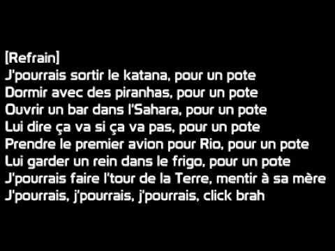 Bigflo & Oli  -  Pour un pote (paroles)