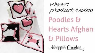 Poodles And Hearts Afghan And Pillows Product Review Pa887