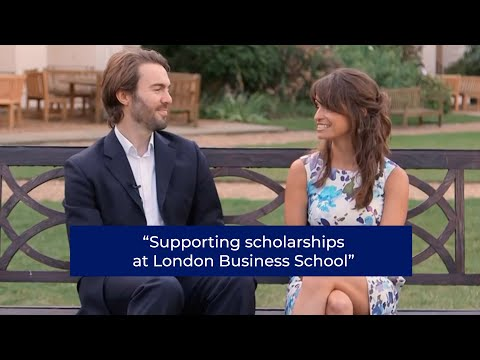 Supporting scholarships at London Business School | London Business School
