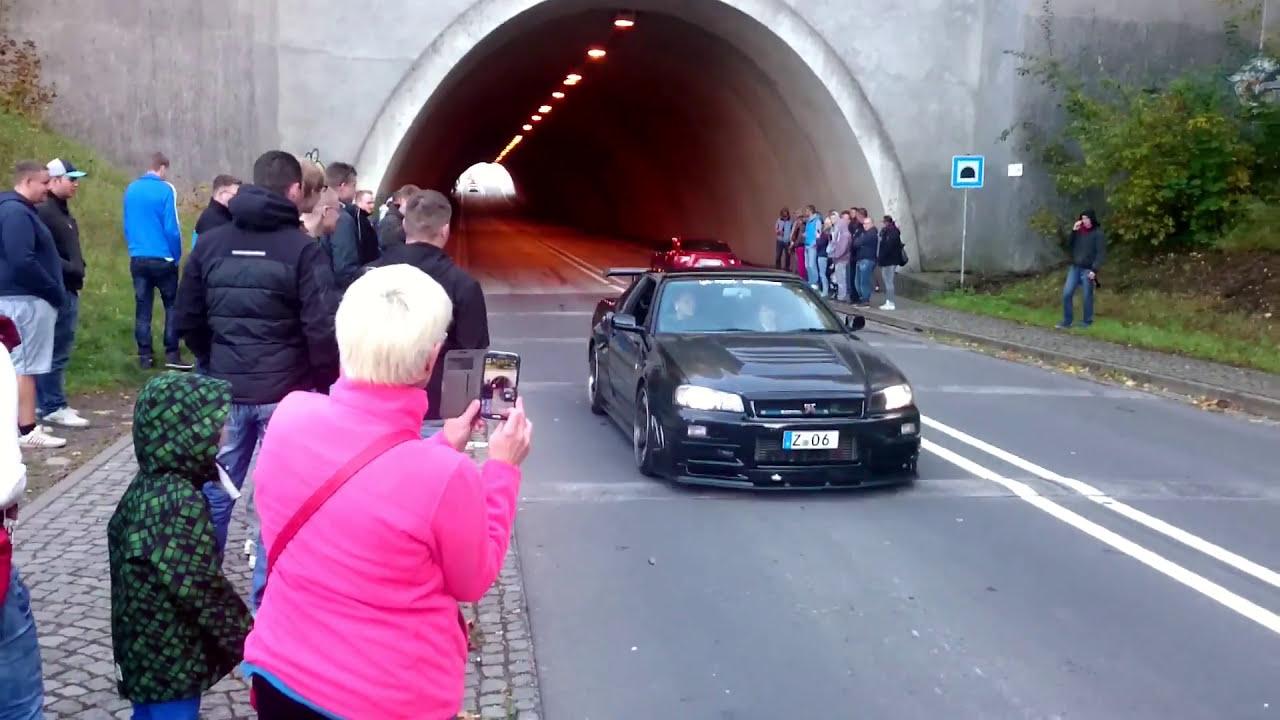 Nissan Skyline R34 GTR V Spec Nismo Omori Factory S1 - YouTube