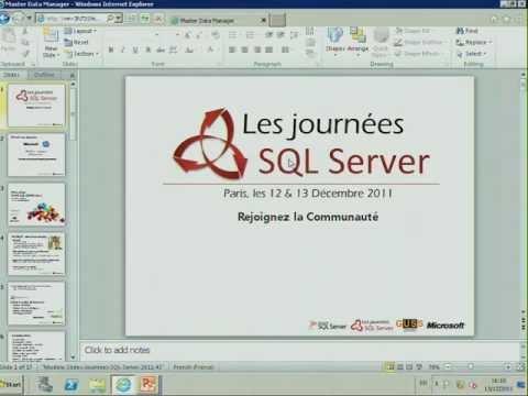 MDS & DQS : Données D'entreprise / Journées SQL Server